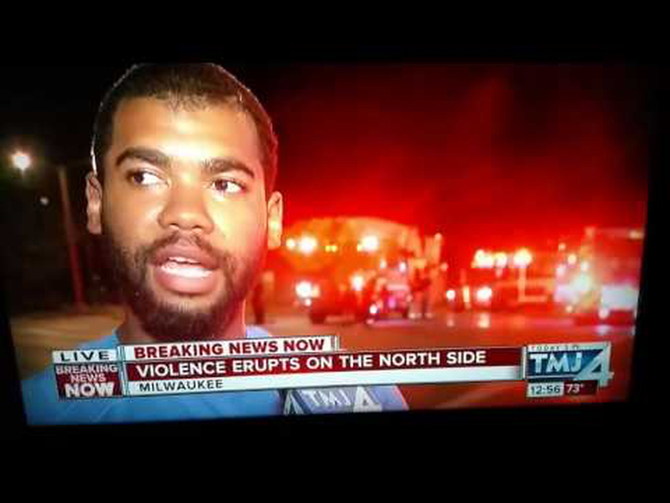 This guy said rich peeps aren't giving the black community any money. Therefore riots justified.