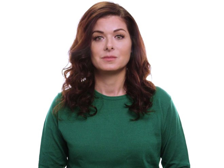 The ultra-sanctimonious Debra Messing, who should probably stick to browbeating NBC into bringing back the awful Will and Grace instead of making PSAs.