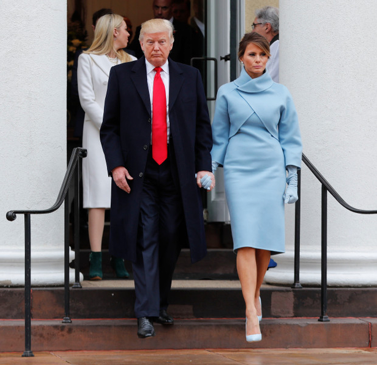 President Trump and the glorious First Lady Melania
