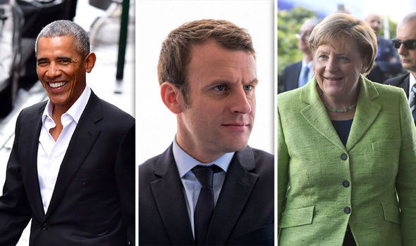 Emmanuel Macron has sought support from globalists like Barack Obama and Angela Merkel. Defeat him!