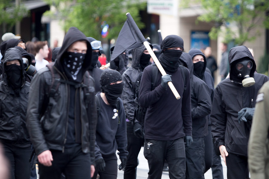 """The extremely violent """"Antifa"""" group will no doubt bring their special brand of crazy to the #Resist marches!"""