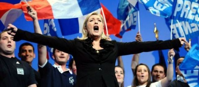 Vive Le Pen and Death to the EU!